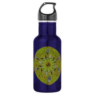 Baba Yaga Mandala 532 Ml Water Bottle