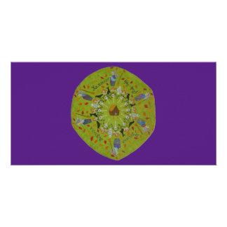 Baba Yaga Mandala Card