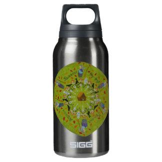 Baba Yaga Mandala Insulated Water Bottle
