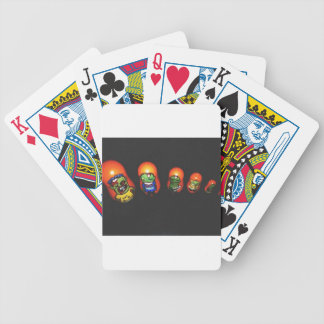 Baba zombie bicycle playing cards