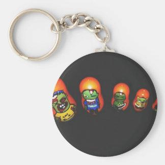 Baba zombie key ring