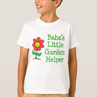Baba's Little Garden Helper T-Shirt