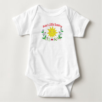 Baba's Little Sunshine Baby Bodysuit