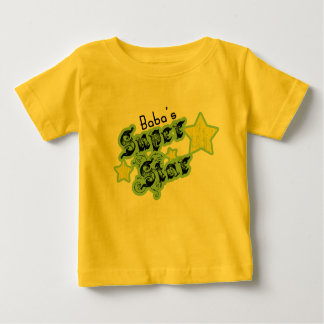 Baba's Super Star Baby T-Shirt