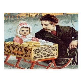 Babbitt's Soap Powder Postcard