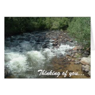 Babbling Brook Card