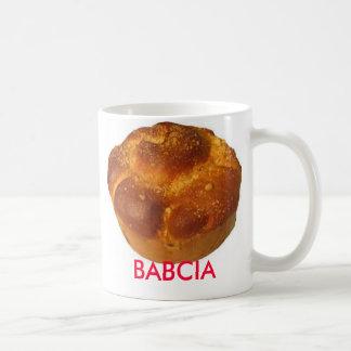 BABCIA/Grandmother Coffee Mug