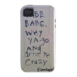 babe babe... sludge lyrics by SLUDGEart iPhone 4 Cases