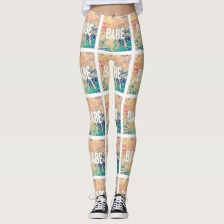 Babe-like hey babe leggings