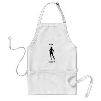 Babe magnet apron