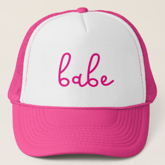 Babe. Trucker Hat