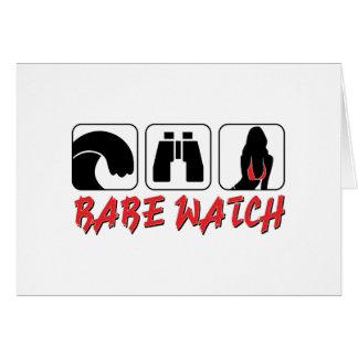 Babe Watch - Sun Surf and Girls Card