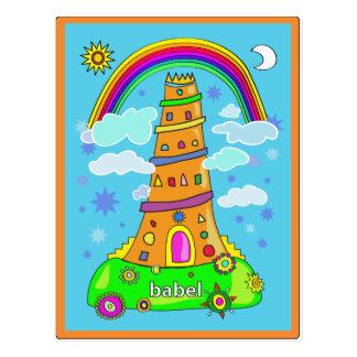 Babel Postcard