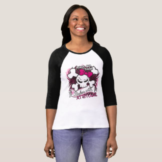 Babes With Attitude Roller Derby Long Sleeves T-Shirt