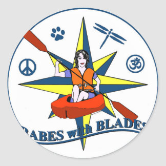 Babes With Blades sticker