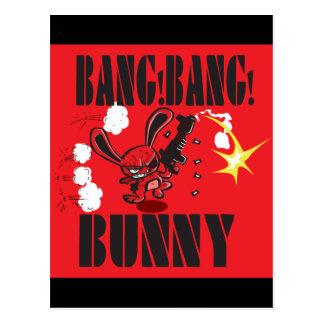 Babg Bang Bunny Postcard