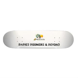 BABIES BOOMERS & BEYOND 21.6 CM SKATEBOARD DECK