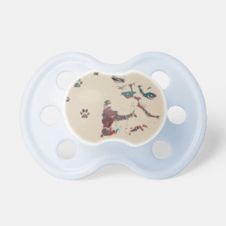 Babies Cat Paw Prints Cute Meow Destiny Destiny'S Dummy