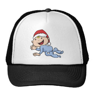 Babies' first christmas hats
