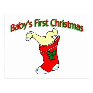 Babies First Christmas Post Cards