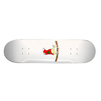 Babies First Christmas Skate Board