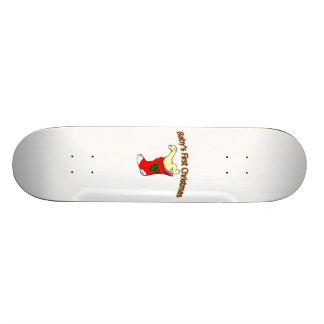 Babies First Christmas Skateboard Decks