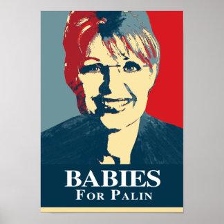 BABIES FOR PALIN PRINT