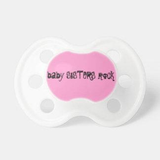 Babies rock! pacifiers
