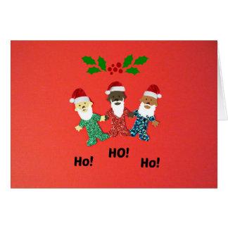 "Babies wishing you a ""Merry Christmas!"" Greeting Card"