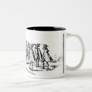 Babington and his Accomplices Two-Tone Coffee Mug