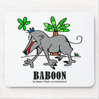 Baboon by Lorenzo Mouse Pad