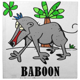 Baboon by Lorenzo Napkin