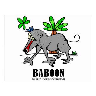 Baboon by Lorenzo Postcard