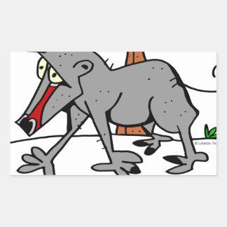 Baboon by Lorenzo Rectangular Sticker