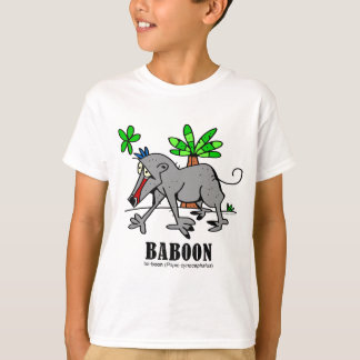 Baboon by Lorenzo T-Shirt