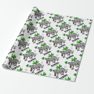 Baboon by Lorenzo Wrapping Paper