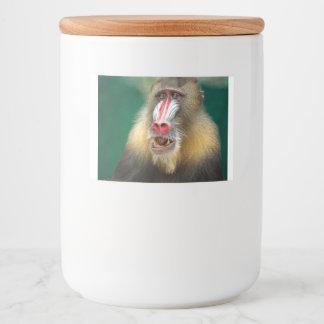 baboon food label