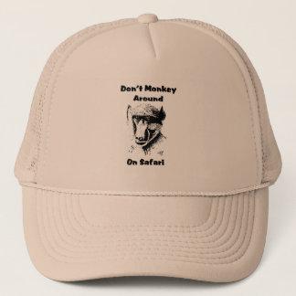 Baboon Safari Cap