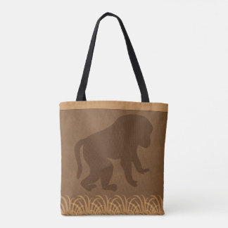 Baboon | Safari | Jungle Theme Tote Bag
