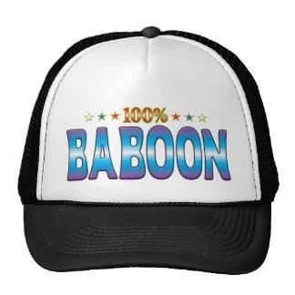 Baboon Star Tag v2 Mesh Hat