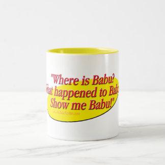Babu!... Two-Tone Mug