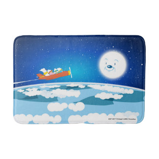 baburu (moon) bus mat bath mats