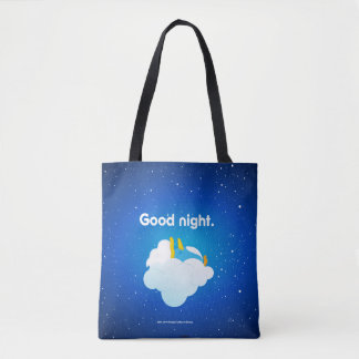 baburu (Sleeping) Tote Bag