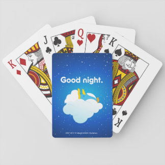 baburu (Sleeping) tramp Playing Cards