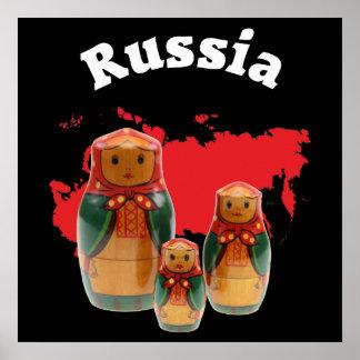 Babushka Matrjoschka Matryoshka poster