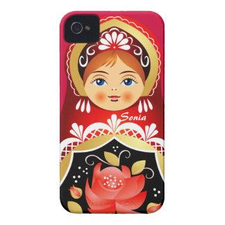 Babushka Matryoshka  Russian Doll Case-Mate iPhone 4 Case