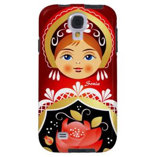Babushka Matryoshka Russian Doll Samsung S4 Case