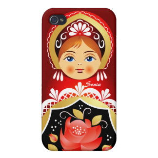 Babushka Russian Doll iPhone 4 Case. iPhone 4/4S Covers