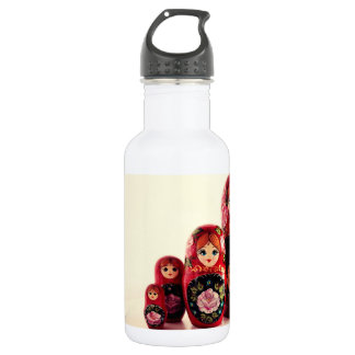 Babushka Russian Doll 532 Ml Water Bottle