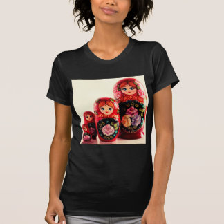 Babushka Russian Doll T Shirt